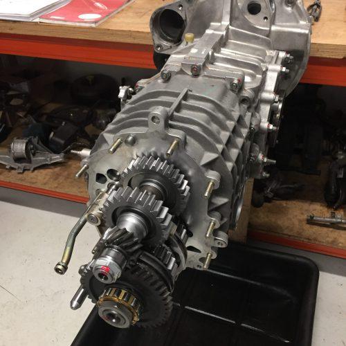 Rebuild 996 GT3 Gearbox